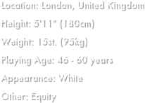 Location: London, United Kingdom